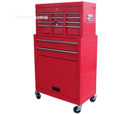 8 Drawer Roller Cabinet Tool Chest Tool Box